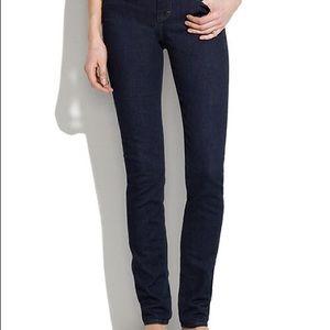 Madewell Super Dark Skinny Jeans Sz 27